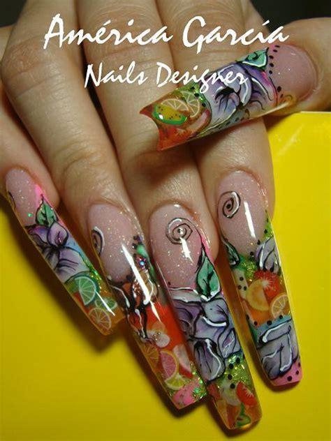 imagenes de uñas decoradas en tercera dimension u 241 as decoradas amerika garcia p 225 gina 2