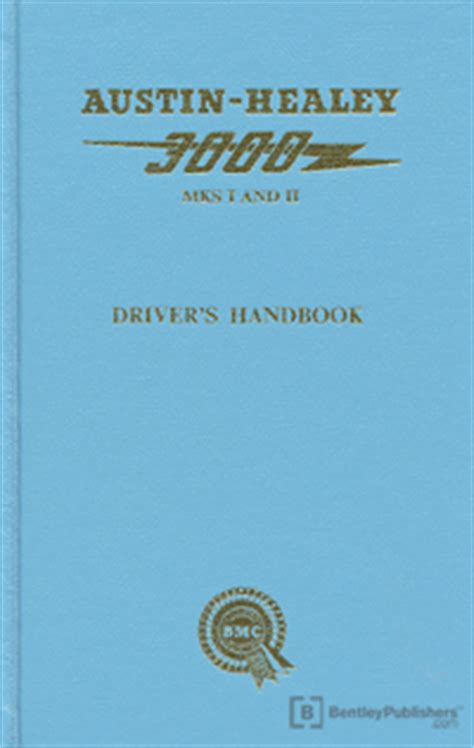3000 facts about books healey owner s manual healey 3000 mk i