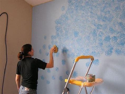 pattern wall painting techniques sponge painting pattern pretty walls pinterest