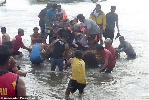 sinking boat in quezon philippine ferry sinks 4 dead 7 missing 240 rescued
