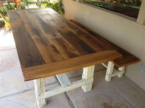 farmhouse dining table and bench farmhouse dining furniture