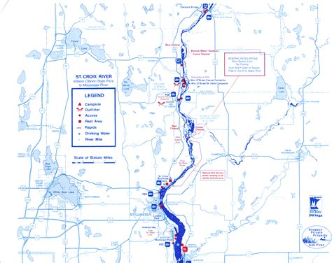st croix river map river maps croixsippi fishing guide service st croix