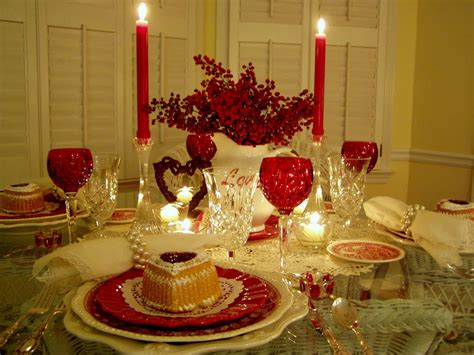valentines day tablescapes s day tablescapes table settings with shaped cakes