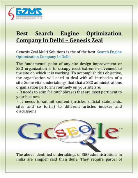 Best Search Company Best Search Engine Optimization Company In Delhi