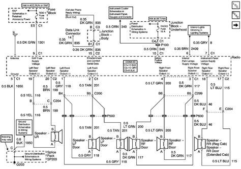 chevy suburban radio wiring diagram  chevy silverado wiring diagram  chevrolet