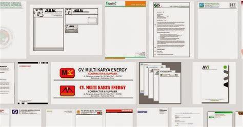 cara buat struktur organisasi sekolah contoh kop surat perusahaan berbagai desain 171 contoh surat