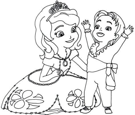 clover coloring page free sofia the first coloring pages coloring pages picturesque sofia the first coloring pages