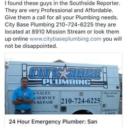 Plumbing Services San Antonio by City Base Plumbing 19 Photos Plumbing San Antonio