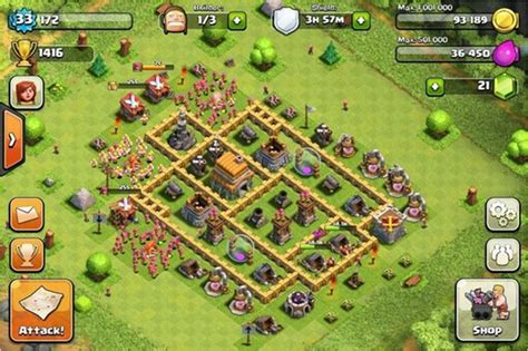 layout coc town hall 6 clash of clans builder best town hall 6 layouts heavy com