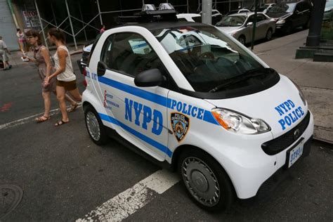 used smart car nyc nypd prohibits cops from using smart cars in