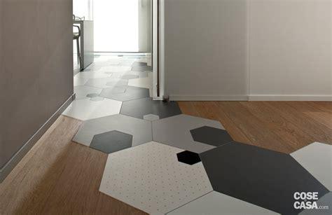 piastrelle per casa soluzioni da copiare nella casa con percorso di piastrelle