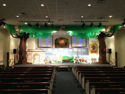 Backyard Stage Our Stage For God S Backyard Bible C Vbs Vbs Decor