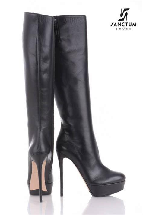 sanctum italian platform knee boots with thin heels