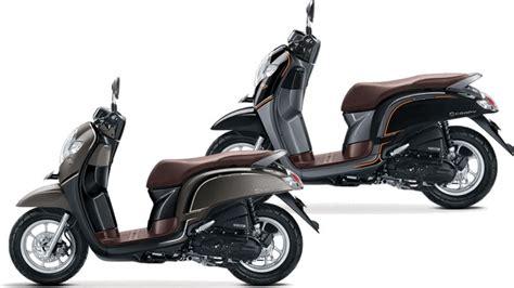 Calista Dengan Warna Browncream Black ini delapan pilihan warna honda new scoopy