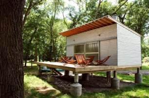 Yurt Interior Floor Plans prefab friday rocio romero s fish camp house inhabitat