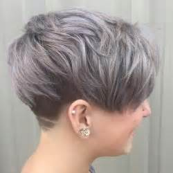 Galerry undercut hairstyle for round faces