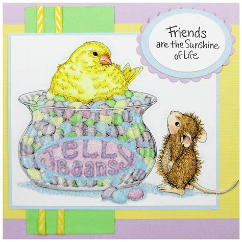 house mouse rubber sts jelly bean bird rubber st