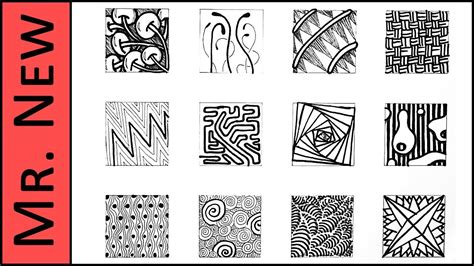 easy zentangle pattern ideas step by step easy zentangle doodles how to make12 extra patterns