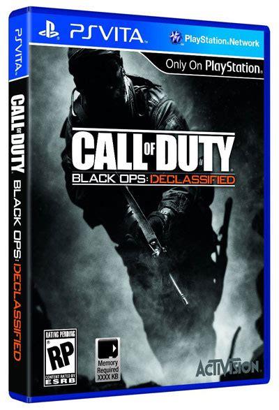 Psvita Call Of Duty Black Ops Declassified Reg2 black ops declassified for vita listed on hd