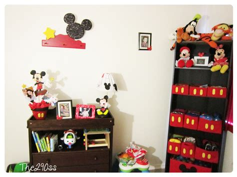 Mickey Mouse Room Decor The290ss Mickey Mouse Inspired Room Decoration