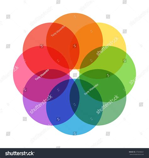 pastel color wheel pastel color wheel stock photo 275696021