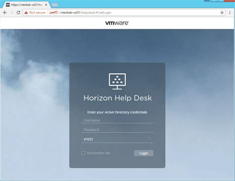 Www Desk Login by Horizon 7 2 With A Helpdesk From Friends Pascal S Wereld