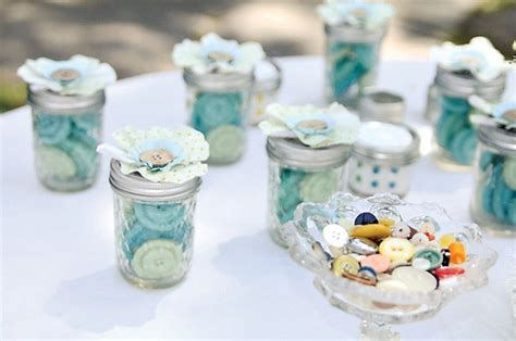 Cute Giveaways - cute as a button first birthday party pretty party inspiration the tomkat studio blog