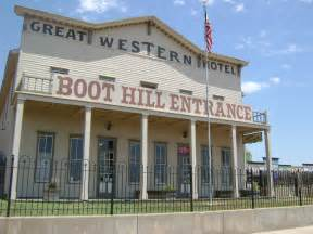 Dodge City Ks File Boot Hill Museum Entrance Great Western Hotel Jpg