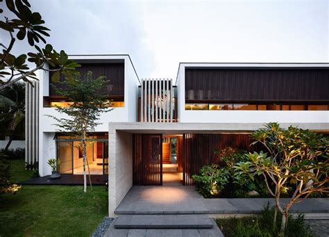 home architecture design building renovation project in singapore with a modern