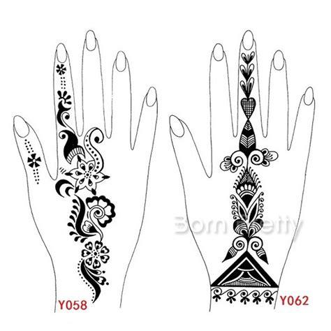 henna tattoo hand templates 3 24 stencil templates mehndi henna