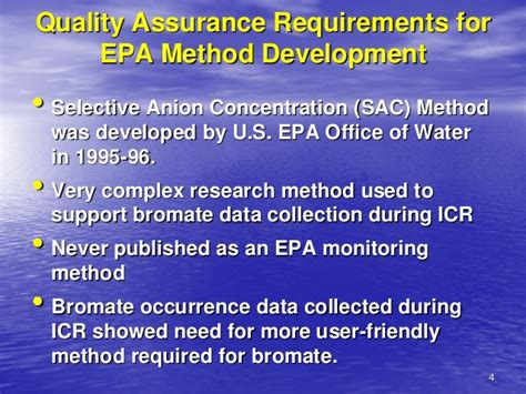 Epa Office Of Water by Chromatography Comparison Of Epa Methods 300 1 317 326