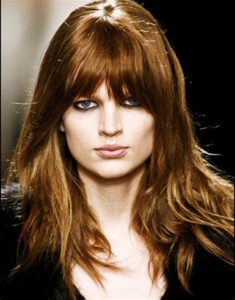 long layered hairstyles no fringe hollywood official