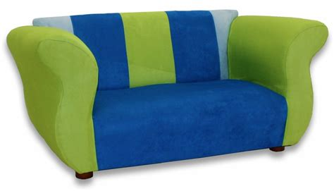 Blue Green Sofa Fancy Sofa In Blue And Green Microsuede Rosenberryrooms