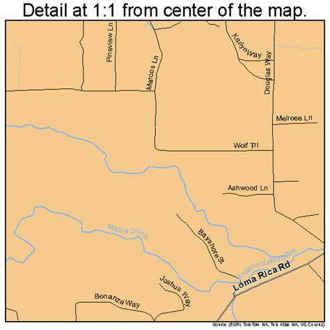 california map loma loma rica california map 0642412