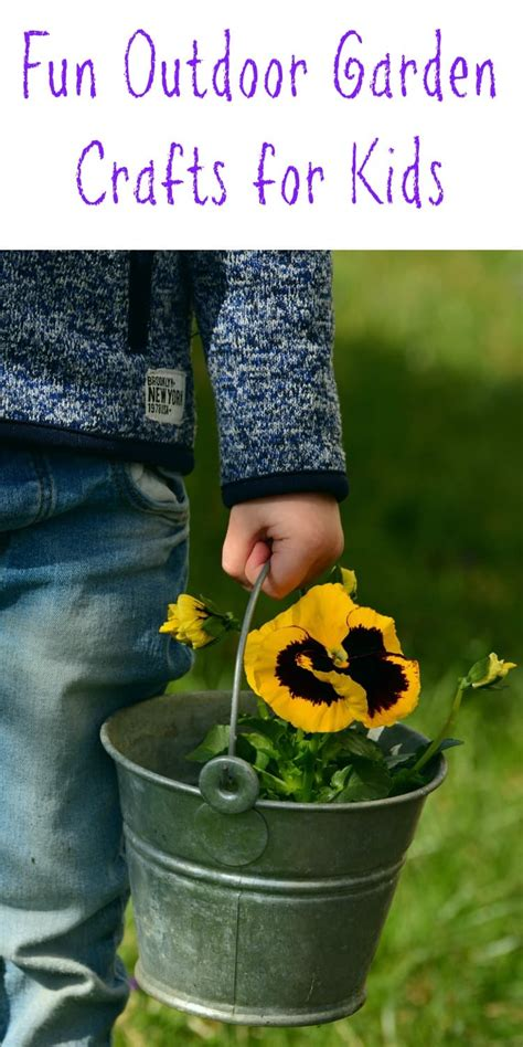 garden craft ideas for the chapter