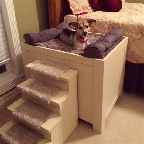 bed steps for dogs 17 best ideas about raised dog beds on pinterest