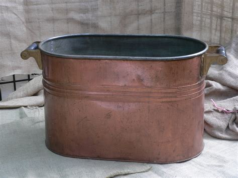 antique copper bathtub antique copper wash tub laundry tub double boiler amazing