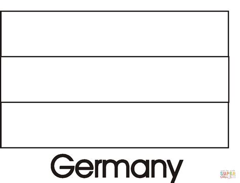 coloring page for german flag germany flag coloring page free printable coloring pages