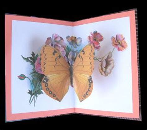 free butterfly pop up card templates 114 best images about diy pop up cadrs on
