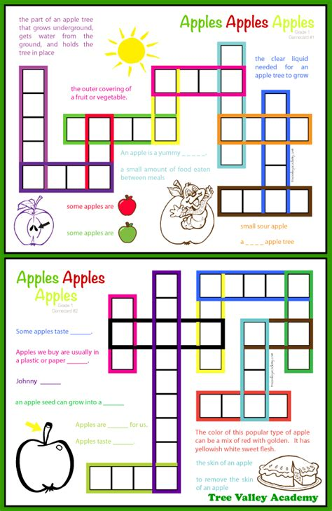 printable word games grade 1 apple theme spelling activities for grade 1