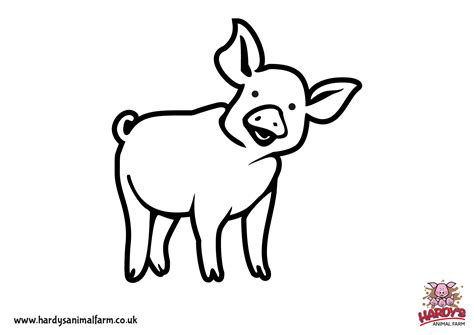 Animal Pictures For To Color by Colouring Pages Hardys Animal Farm