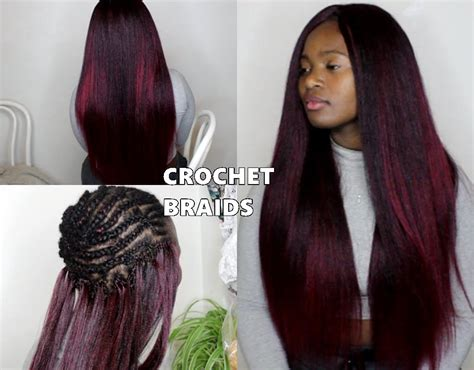 crochet braids hairstyles youtube micro crochet hair styles creatys for