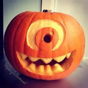 mike wazowski pumpkin carving template creative pumpkin carving ideas for decorating
