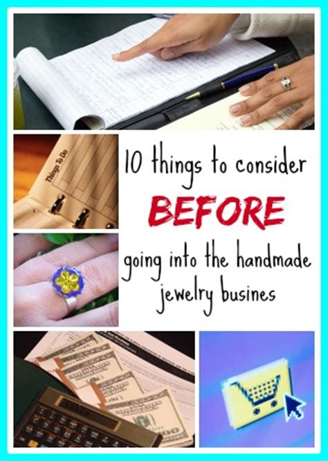 How To Start A Handmade Jewelry Business - 10 things to consider before going into the handmade