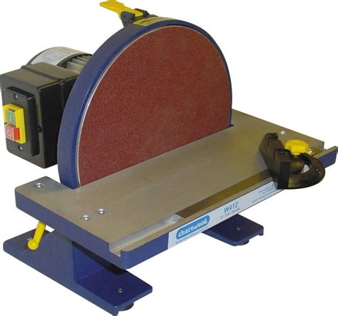 Small Woodworking Bench Charnwood W412 12 Disc Sander