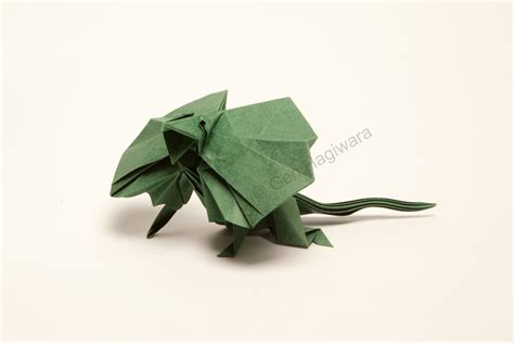 Origami Gecko - iguana fold these 28 awesome origami lizards