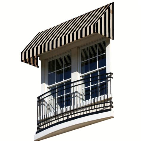 10 ft awning awntech 10 ft dallas retro window entry awning 44 in h