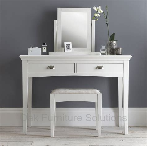 Vanity Dressing Table by Hstead White Dressing Table Oak Furniture Solutions