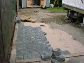 Laying Pavers For Patio Bongiorno S Contracting Grinell Paver Patio Installed In Island Ny
