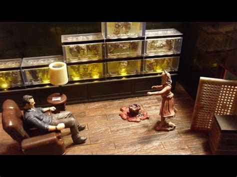 walking the room the walking dead the governors room building set review